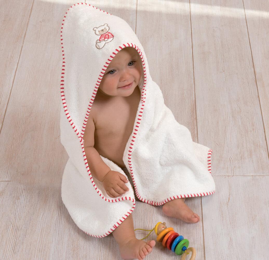Le linge de bain bébé par Linvosges
