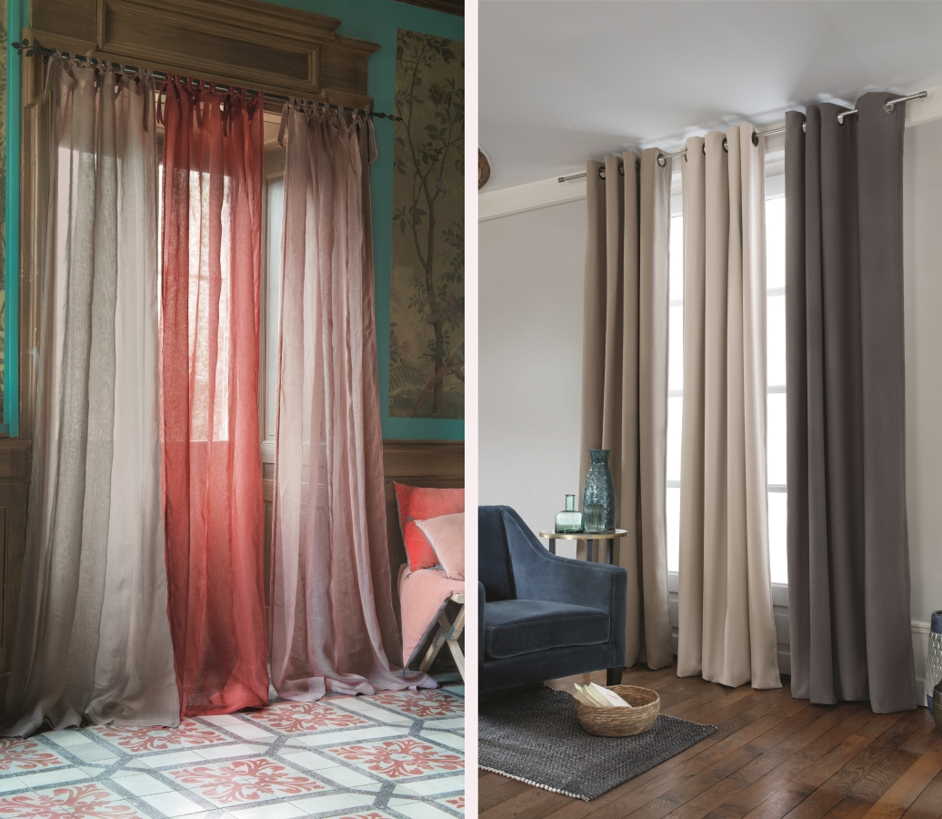 Les rideaux par Linvosges