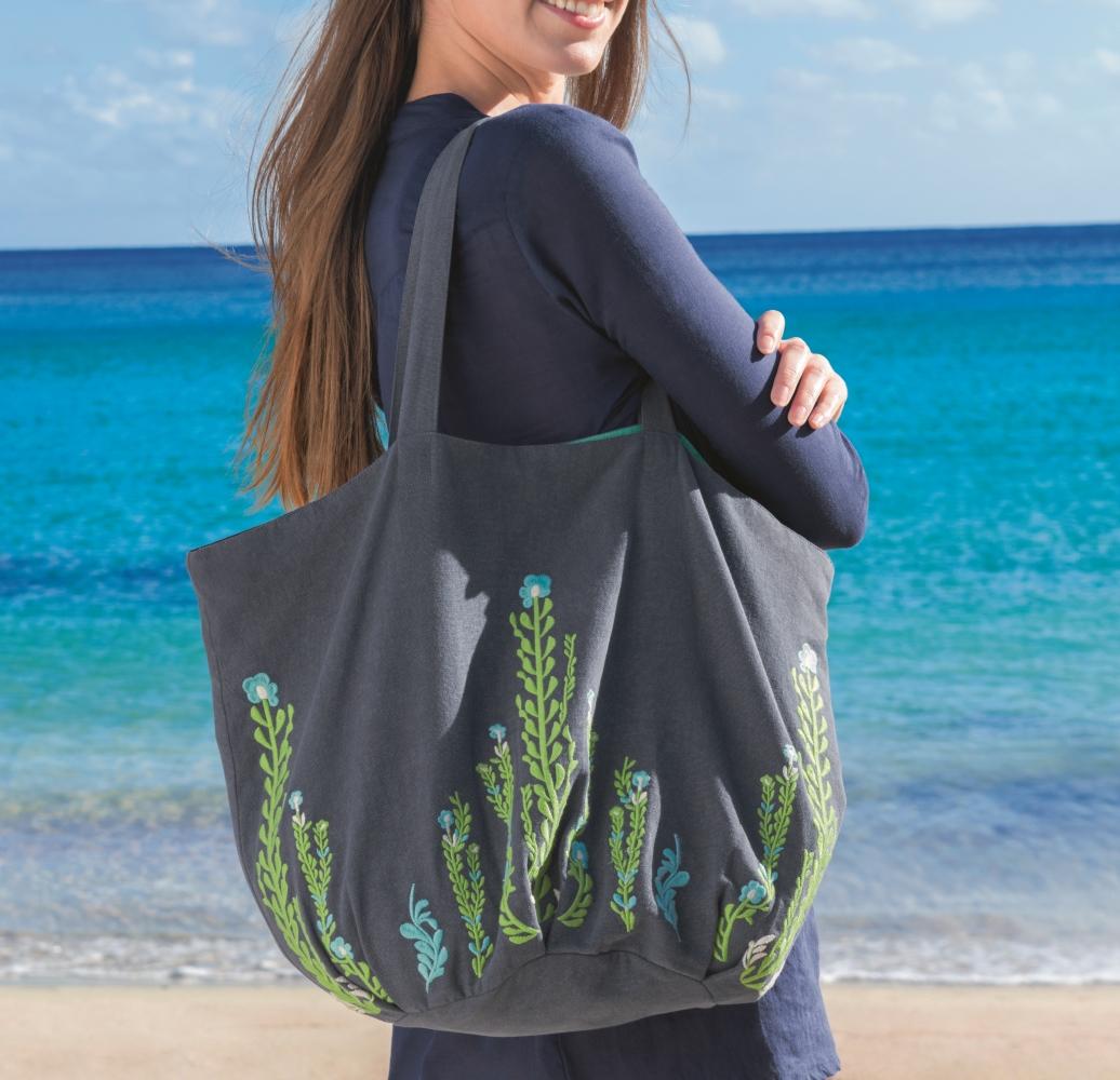 Le sac de plage et accessoires par Linvosges