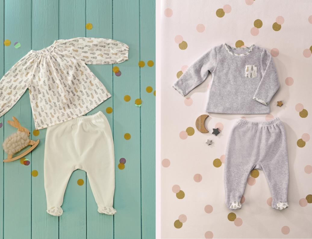Les vêtements bébé par Linvosges